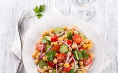 Buckwheat Chickpea Salad